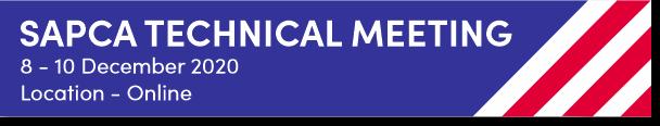 SAPCA Technical Meeting Graphic